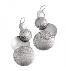 Brincos de prata em filigrana