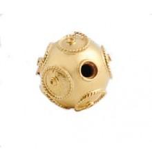 Bola de viana em ouro